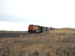 BNSF 5882 DPU on eb coal
